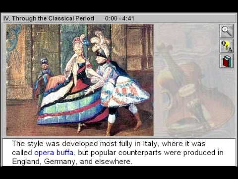 Through the Classical Period of Music (Through the Classical Period Part 4)