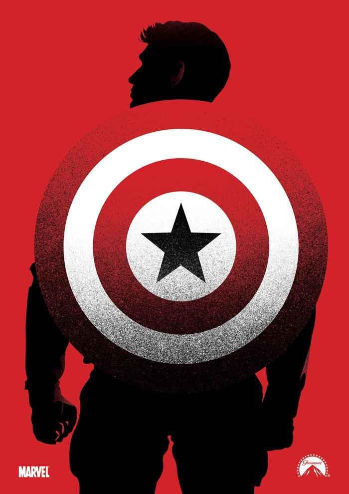 Captain America: The Winter Soldier Poster - Robert Lockley