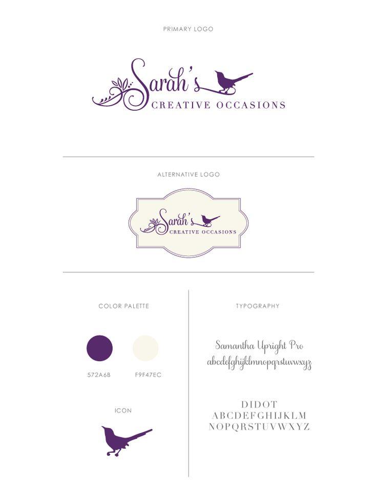 Brand Board, Logo Design, Branding from Christine Findlater Design