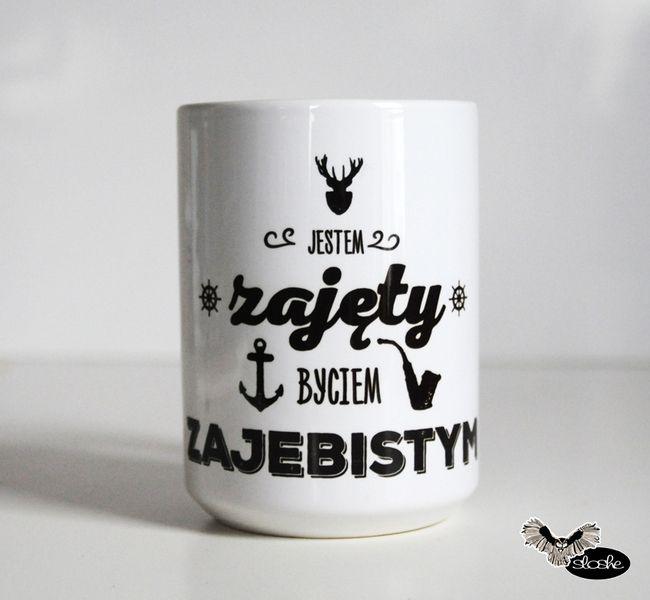 #dlasiebie #niezchinzpasji - niestety nie dostalismy fajnych kubków na slub. W takim zimowa herbatka bylaby calkiem przyjemna