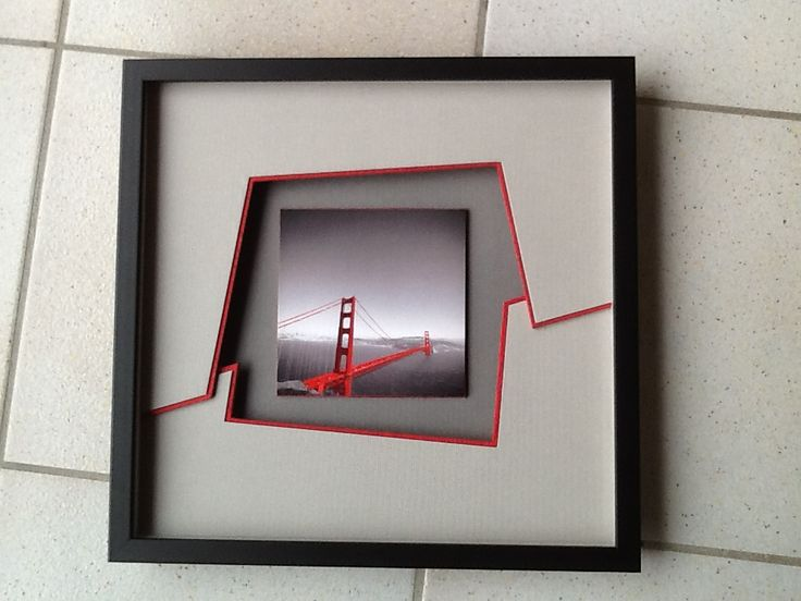 46 best creative matting framing ideas images on pinterest cant wait to try it solutioingenieria Image collections