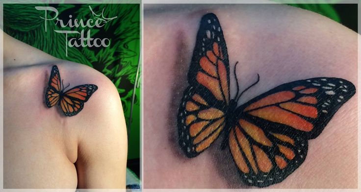 #ButterflyTattoo #Monarch #PavelIvacha #EuropeanTattoos #Ascendingkoi