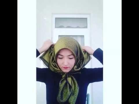 Çoook güzel Eşarp bağlama videoları izle seyret - YouTube