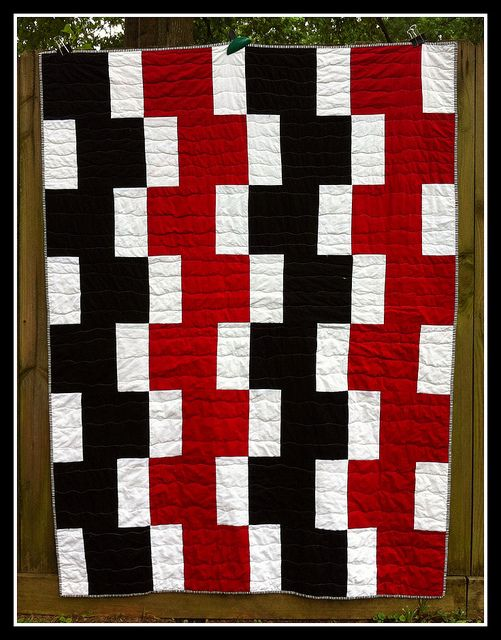 Felicity Quilt Patterns Easy Going Modern Football