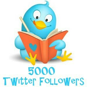 Thank you all, dear Twitter followers! One thousand per year, hardly earned. Hope to keep up the good job :-)