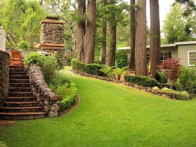 Steep Sloped Back Yard Landscaping Ideas - Bing Images