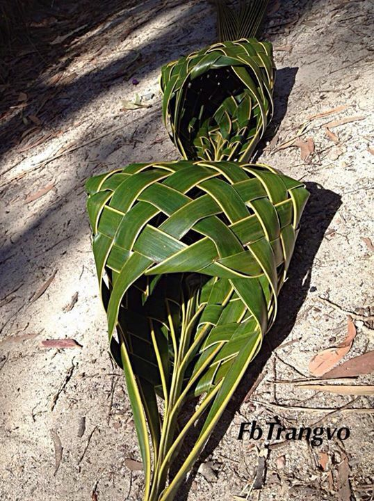 Basket Weaving With Leaves : Best images about palm leaves on how to