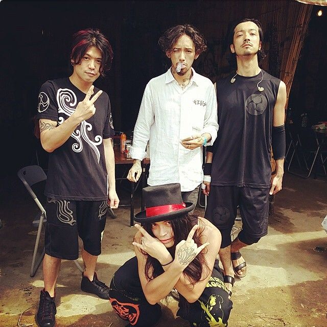 #RIZE #JESSE #金子ノブアキ #KENKEN #AstroGuitar_Rio #Ropost from @ryuji_defcult