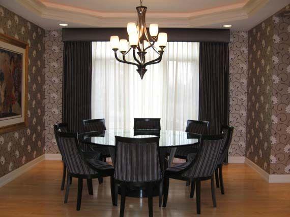 Modern formal dining room sets formal small dining rooms for Formal dining rooms elegant decorating ideas
