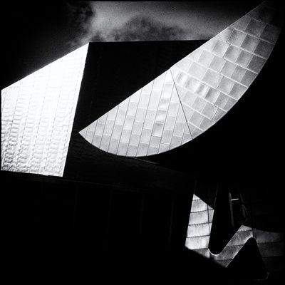 Architectuur (Zwart-witfotografie) Poster - bij AllPosters.be