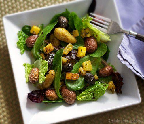 Gluten-Free Goddess Recipes: Roasted Banana Squash and New Potato ...
