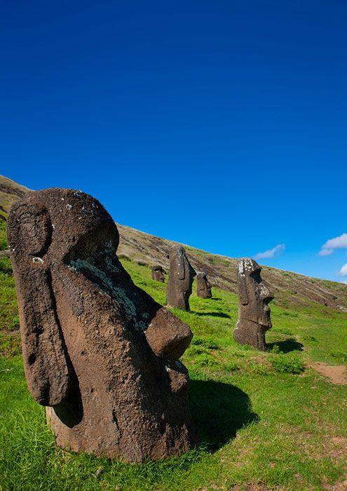 Easter Island - Rano Raraku