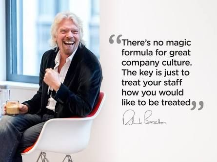 richard branson quotes employees clients - Google Search