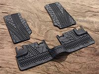 Jeep Wrangler JK Floor Mats by Mopar $78.99