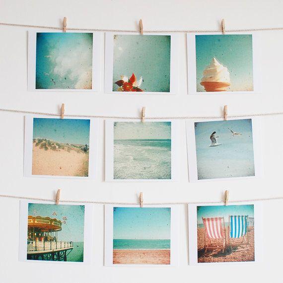 FREE SHIPPING Beach Photography, Nature, Seaside Art, Ocean Art,  Photograph Collection, Nursery, Kids Room, Gift Ideas - The Sea