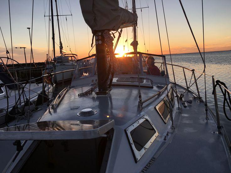 Bagenkop/DK Sonnenuntergang