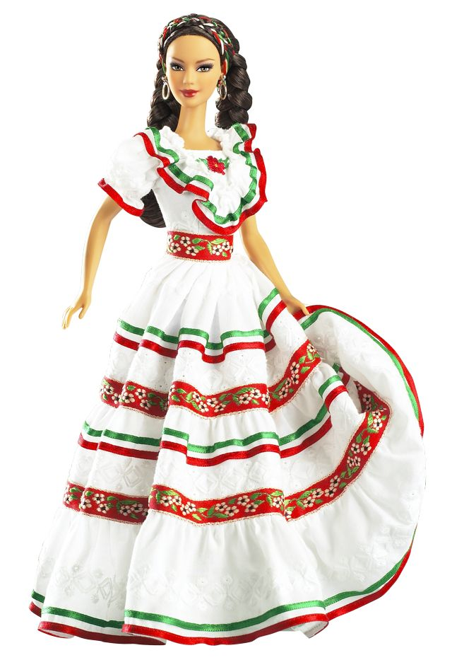 Dolls of the World — South America: Mexico Barbie® Doll