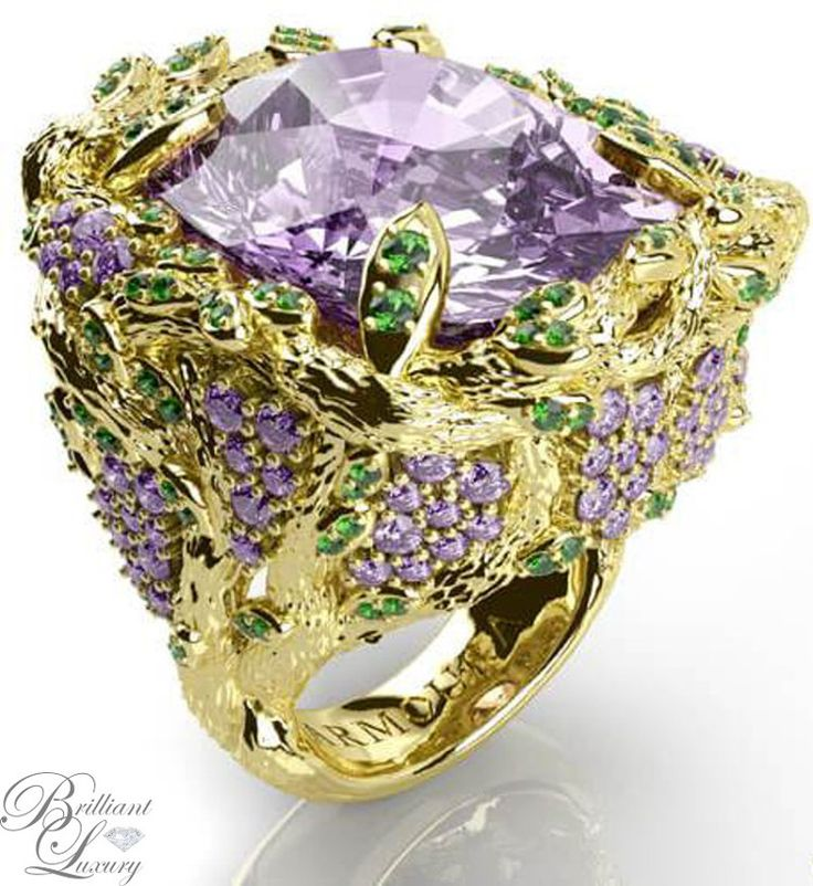 Brilliant Luxury * Armoura 'Wisteria' Ring