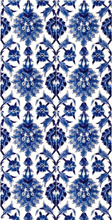 Traditional Iznik Turkish Tile