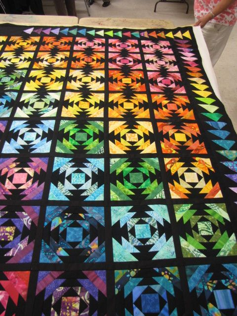 169 Best Rainbow Quilts Images On Pinterest