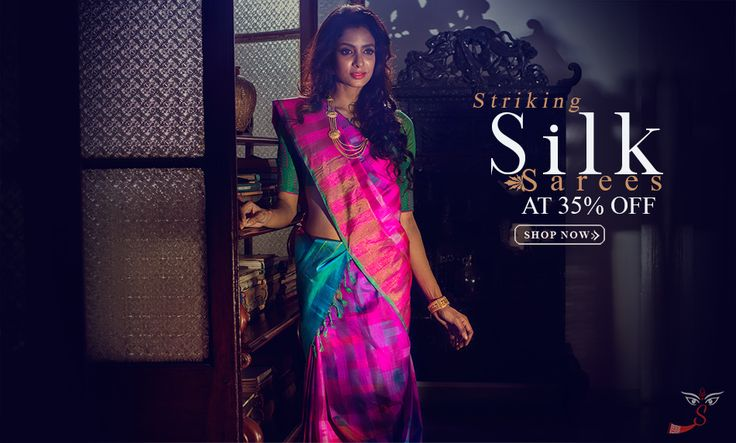 An epitome of grace, poise, beauty and grandiose, pure silk sarees have ruled the world of fashion convention since long