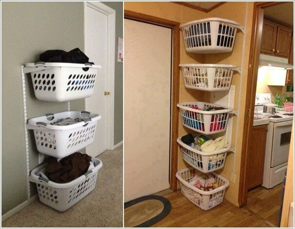 Clever Vertical Storage Ideas For A Laundry Room Dorm Room