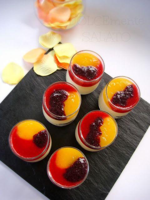 Bicchierini di cremoso agli agrumi (con basi di Montersino)