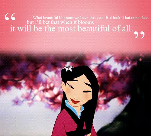 This is what makes Mulan the best of the disney ' princesses', even though she's not technically a princess. Description from pinterest.com. I searched for this on bing.com/images