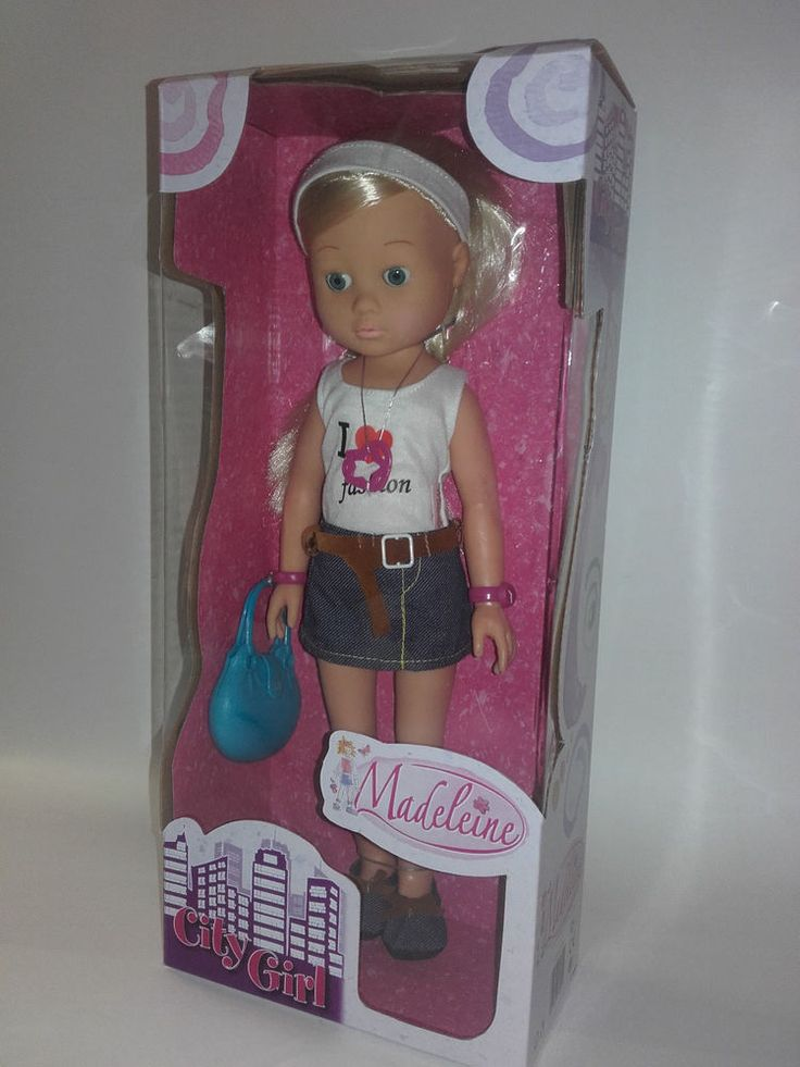 SIMBA TOYS. DOLL CITY GIRL. MADELEINE 34 CM NEW