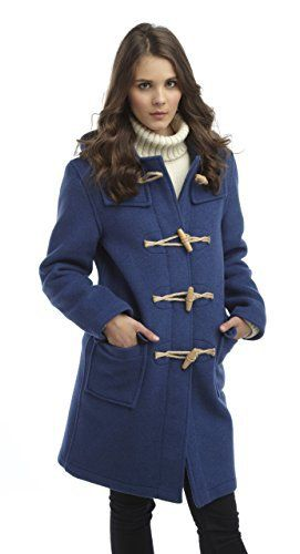 New Trending Outerwear: Original Montgomery Womens Wooden Toggles Duffle Coat (08, Indigo). Original Montgomery Womens Wooden Toggles Duffle Coat (08, Indigo)   Special Offer: $299.00      355 Reviews Full length classic wool mix duffel coat. Hand made in England. Made from the finest Italian cloth from Tuscany. 70% wool and 30% mixed fibres. Luxury softness. Fantastic depth of...