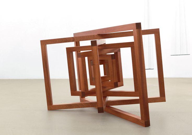 Timo Nasseri- Dual Space  , 2012, wood, 150 x 123 x 90 cm