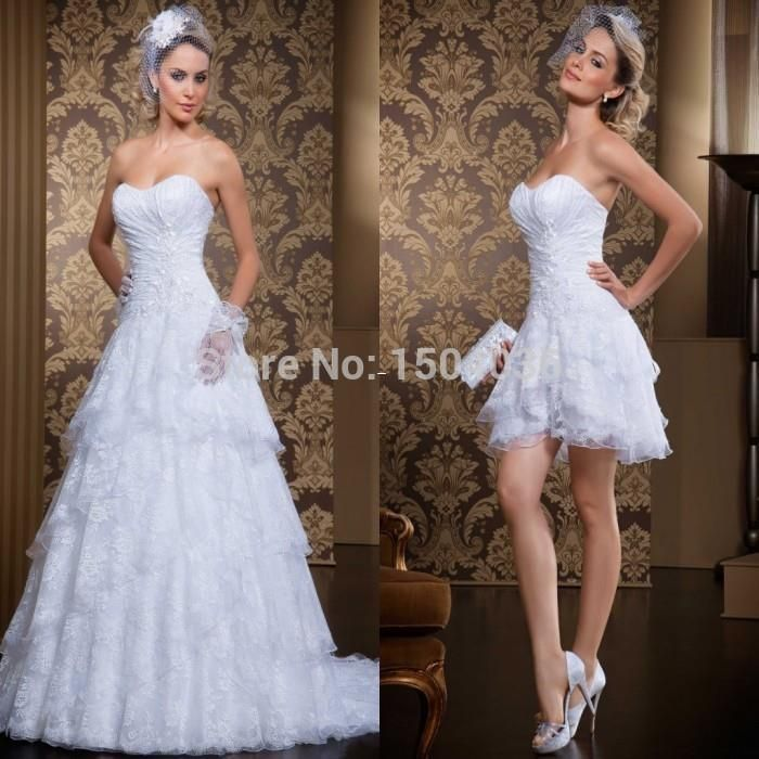 Discount New Style 2 In 1 Wedding Dress Removable Shirt Floor Length Sexy Sweetheart Vestidos De Novia 2015 Wedding Dresses For Older Brides Wedding Gown Designs From Olinabridal, &Price;| DHgate.Com