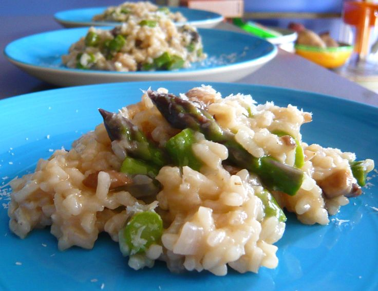asparagus risotto | Eat | Pinterest