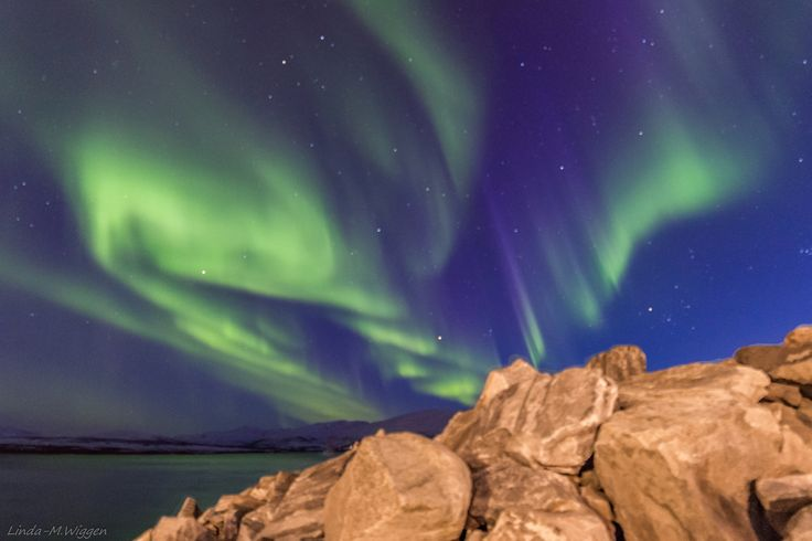 End of the season - This was an amazing night, the northern lights was really powerful