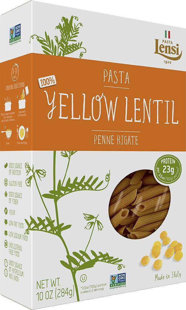 Pasta Lensi Just Yellow Lentil Pasta Alternative Pasta Yellow Lentils