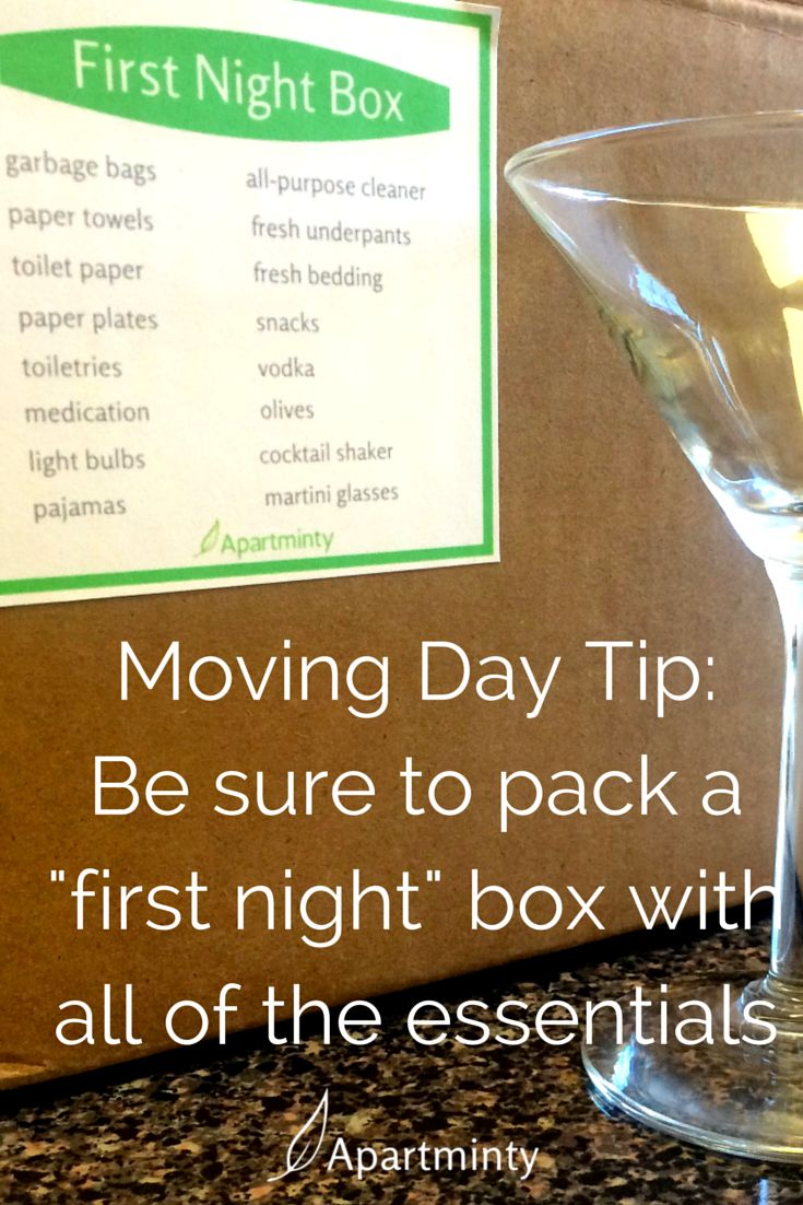 tips for moving into your first apartment | Moving tips | Apartment Life