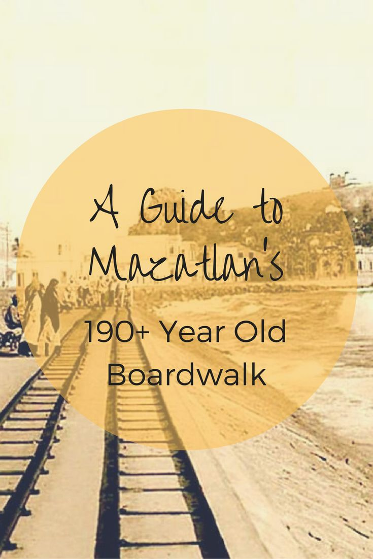 Did you know Mazatlan's boardwalk, or malecon as us locals call it, is over 190+ years old? Mazatlan, Mexico.