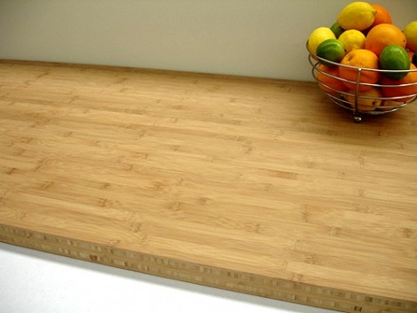 Bamboo Worktops - Carbonised Horizontal 3mtr