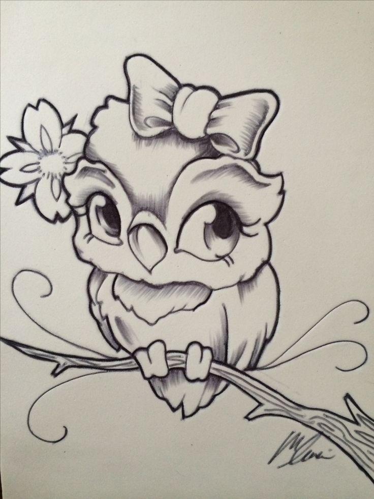 New school owl by mike leuci