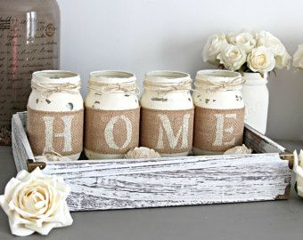 Kitchen Table Centerpiece Rustic Table Decor Rustic Home Decor Housewarming Gift Hostess Gift Farmhouse Decor Rustic Home Sign Mantel Decor