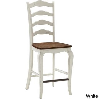 "The French Countryside Bar Stool | Overstock.com Shopping - Great Deals on Bar Stools. 24"" high for 36"" counter top seating."