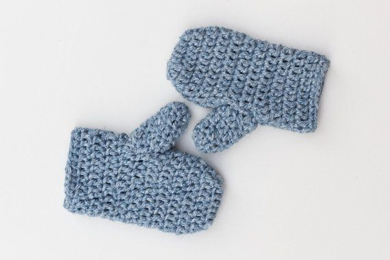 Crochet Mittens, Handmade Crochet Mitts, Gloves, Super Chunky, Cozy, Warm…