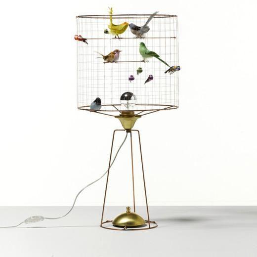 La Volière Birdcage Tall Table Lamp   Beaumonde – Beaumonde ®