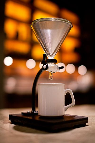 Similar to a Clever, this is in development stage by Able Brewing Company. It's less labor intensive that traditional pour over and more full bodied like french press because of the full immersion of the coffee grounds. Look like a great idea, these would be good.