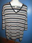 ☺⌂ #MATERNITY TOP, LOUNGE / ACTIVE WEAR, NWT, SIZE XL, STRIPED, 3/4 SLEEVE... http://ebay.to/2j0HhWn