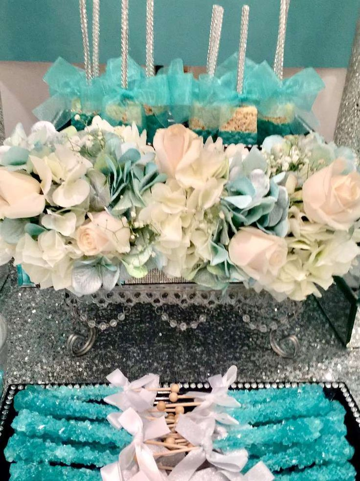 Tiffany U0026 Co. Baby Shower Party Ideas