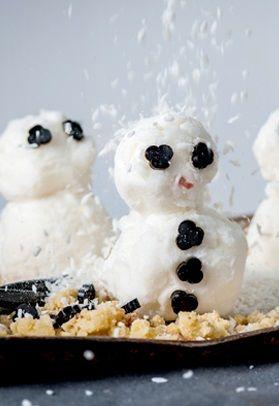 Sorbet snowmen - Alyn Williams