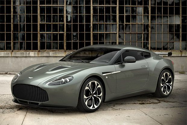 The forthcoming Aston Martin landshark, which will hit the Geneva Auto Show next month, is a 6-liter V12 coupe called the Zagato. It's a totally hand-built, premium-quality masterpiece that packs 510 horsepower and copius slabs of carbon fiber in the body.