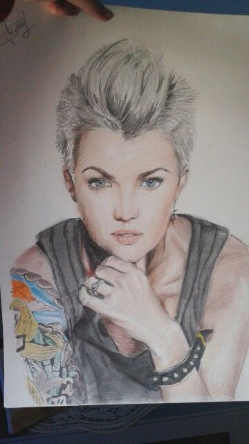 Ruby rose❤ #drawings