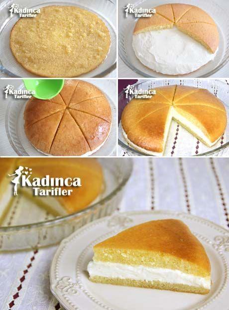 Kremalı Ekmek Kadayıfı Tarifi